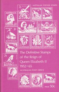 Definitive Stamps of the Reign of Queen Elizabeth II, 1952-1965. Australia