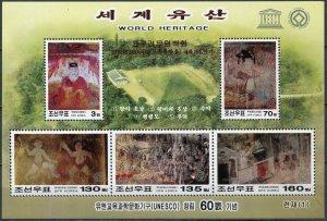 Korea 2006. Complex of Koguryo Tombs (I) (MNH OG) Miniature Sheet