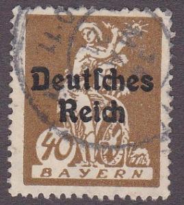 Bavaria # 261, Used, Third Cat