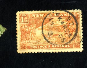 NEW ZEALAND #101 USED F-VF THIN Cat $20