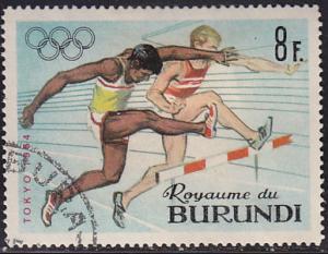 Burundi 106 XVIII Summer Olympic Games, Tokyo 1964