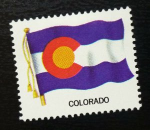 USA Poster Stamp Flag COLORADO  C28