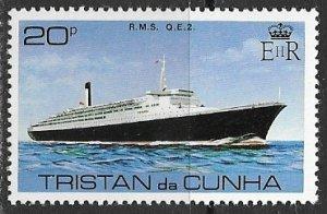 Tristan da Cunha ~ Scott # 258 ~ MNH ~ RMS QE2