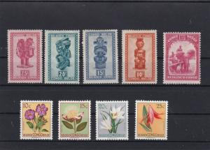 belgian congo mounted mint stamps ref r9367