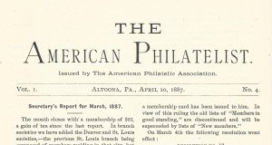 Doyle's_Stamps: APS Members' Delight- The American Philatelist Volume 1, No. 4