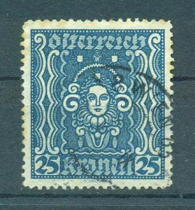 Austria sc# 289 used cat value $.25