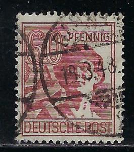 Germany AM Post Scott # 571a, used
