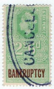 (I.B) Elizabeth II Revenue : Bankruptcy 2/6d