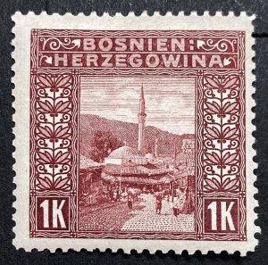 AlexStamps BOSNIA & HERZEGOVINA #43 VF Mint