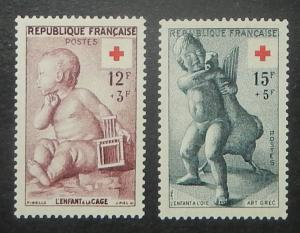 France B300-01. 1955 Red Cross