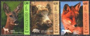 Croatia. 2015. 1172-74. Fauna of Croatia. MVLH.