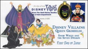17-172, 2017, Disney Villains, Queen Grimhilde, Snow White, DCP, FDC