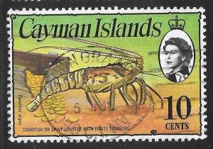 [7057] Cayman Islands # 338 Used