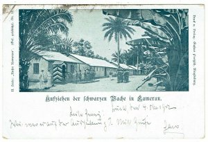 Cameroun 1902 Buea cancel on early picture postcard to Germany