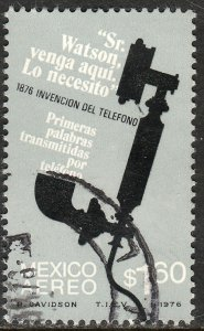 MEXICO C518, Centenary of First Telephone conversation USED. F-VF. (1336)