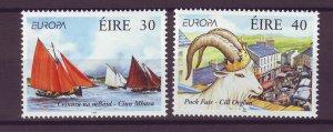 J24834 JLstamps 1998 ireland set mnh #1124-5 europa