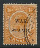 Jamaica  SG 71a - Used opt  no stop after STAMP - see scan and details