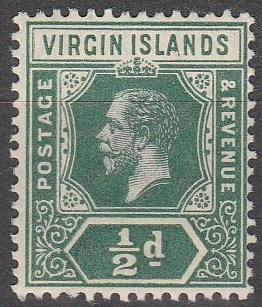 Virgin Is #38 MNH CV $3.75 (S552)