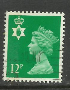Northern Ireland GB 1986 QE2 12p Bright Emerald SG NI 35 ( G609 )