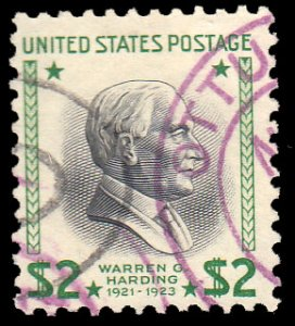 United States Scott 833 Used.