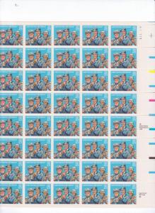 US 2420 - 25¢ Letter Carriers Unused