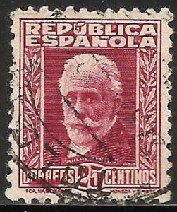 Spain 1931 Scott# 520 Used