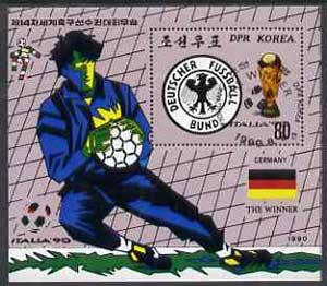 Korea 1990 - World Football Winners West German Sports Stamp