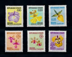 [79809] Haiti 1970 Flora Flowers Blumen Orchids  MNH