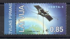 LATVIA - 2017 - SPACE - SATELLITE - VENTA-1 -