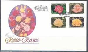 CISKEI  ROSES   FIRST DAY COVER