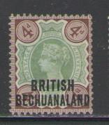 Bechuanaland Protectorate Sc 35 1891 4d Victoria stamp mint