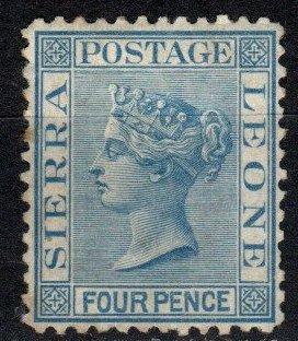 Sierra Leone #9a F-VF Unused CV $375.00  (X5061)