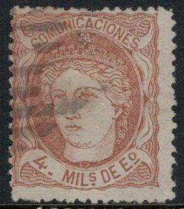 Spain #163 CV $13.50