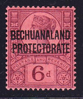 Great Britain QV 1897 Bechuanaland Protectorate Nr.74 VF/Mint(*)