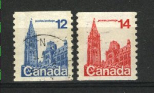 Can #729-30   -1    used VF  PD