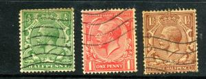 Great Britain 187-9 Used