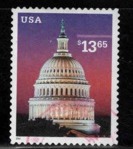 USA Scott 3648 Used $13.65 Capitol stamp