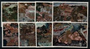 Thailand Scott 666-73 Mint NH [TE243]