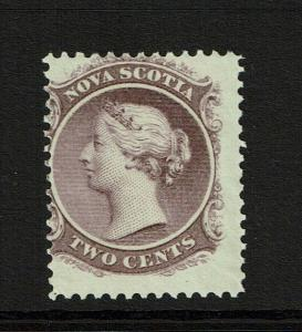 Nova Scotia SC# 9a Mint Never Hinged / Light Gum Creases - S8321