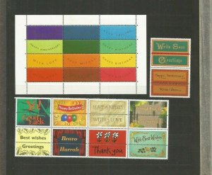 GREAT BRITAIN GREETINGS STICKERS