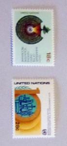 UN, NY - 366-67, MNH Set. UN Volunteers Prog. SCV - $0.80