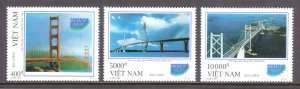 Vietnam - Scott #2768-2770 - MNH - SCV $3.25