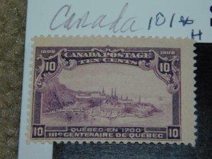 CANADA SCOTT# 101 MINT HINGED