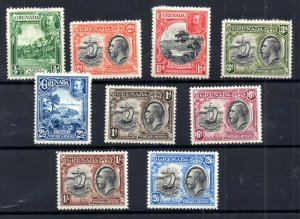 Grenada KGV 1934 mint MH set to 2s 6d SG135-143 WS18508