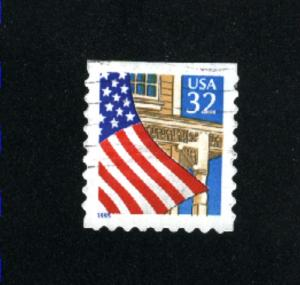 USA # 2920  2 used 1995-97 PD .08