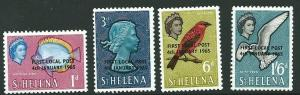 ST.HELENA SG193/6 1953 LOCAL POST MNH