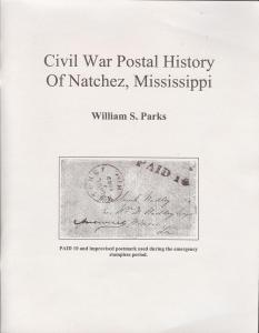 Civil War Postal History of Natchez, Mississippi,