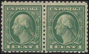543 Mint,OG,HR... Pair... SCV $1.40
