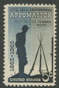 STAMP STATION PERTH USA #1182  MNH OG 1965  CV$0.25.