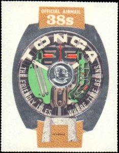 Tonga #C061-C062, Complete Set(2), 1972, Never Hinged